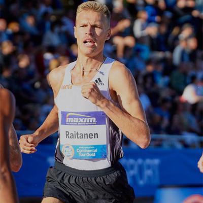 3000m SC winner Topi Raitanen